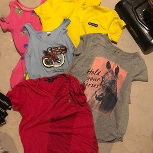 Preteen bundle sizes 10-16 Shirts and dresses
